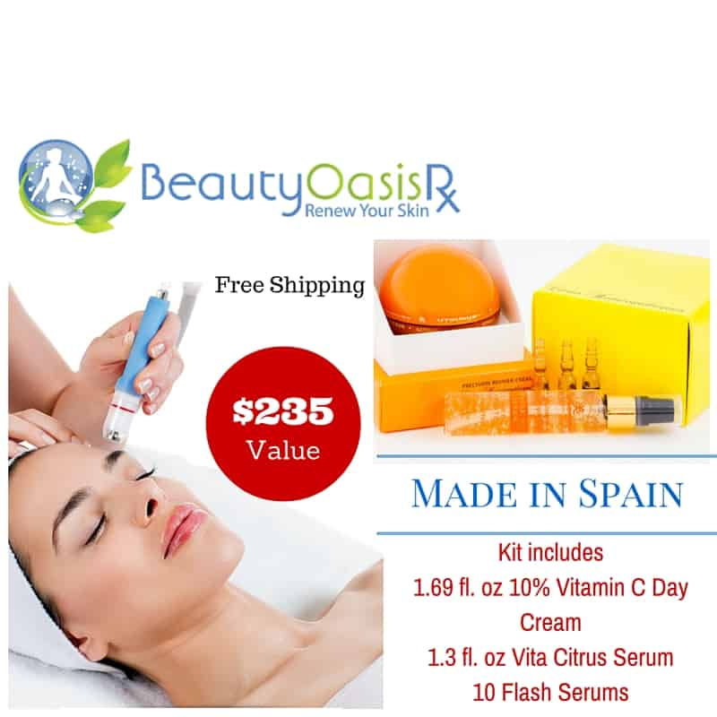 Free Microdermabrasion with Skin Care Kit